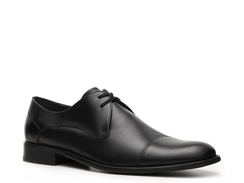 Pantofi John Varvatos - U.S.A. Star Cap Toe Oxford - Black