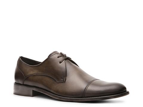 Pantofi John Varvatos - U.S.A. Star Cap Toe Oxford - Burnished Brown