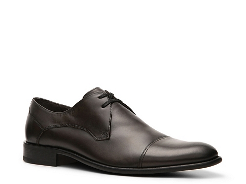 Pantofi John Varvatos - U.S.A. Star Cap Toe Oxford - Grey