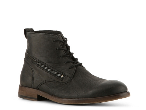 Ghete John Varvatos - NYC Zipper Boot - Black