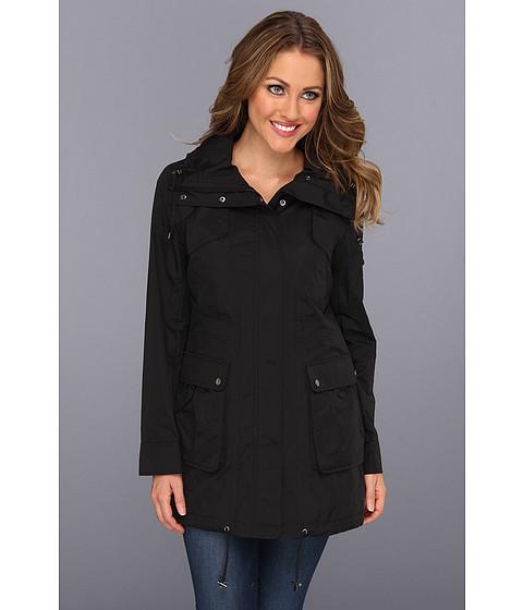 Jachete Cole Haan - Packable 4-Pocket Travel Jacket w/ Hood - Black