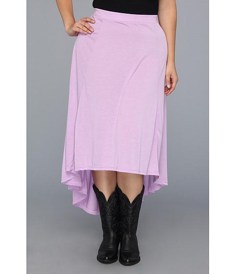 Fuste Roper - Plus Size 8626 4 Gored Poly Rayon Jersey Skirt - Purple