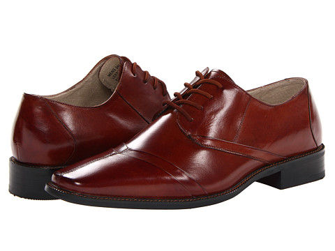 Pantofi Stacy Adams - Rochester - Cognac Buffalo Leather