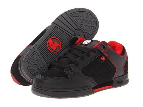 Adidasi DVS Shoe Company - Militia x Deegan - Black Leather Deegan FA 13