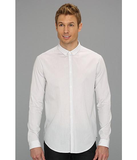 Camasi Elie Tahari - Striped Steve Shirt J805M503 - White