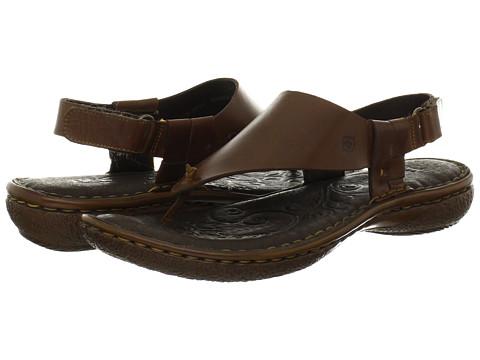 Sandale Born - Esty - T Moro (Dark Brown) Full Grain Leather