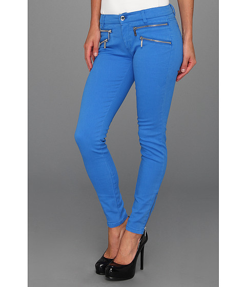 Blugi MICHAEL Michael Kors - Skinny Color Jean in Blue Jay - Blue Jay