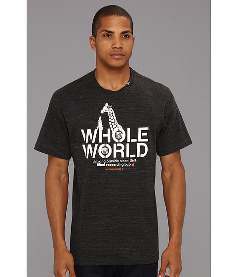 Tricouri L-R-G - Whole World Tee - Black Heather