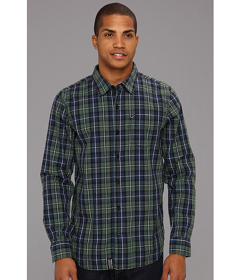 Camasi L-R-G - Core Collection Plaid L/S Woven - Navy