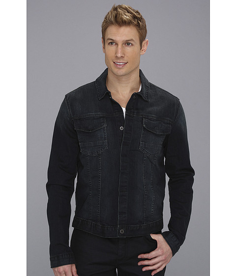 Jachete Calvin Klein - Rustic Green Denim Jacket - Dark Wash