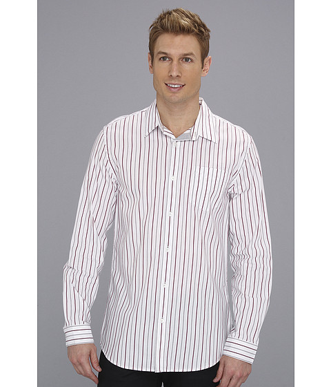 Camasi DKNY - L/S Stripe Slim Fit Shirt-City Press - Twny Port