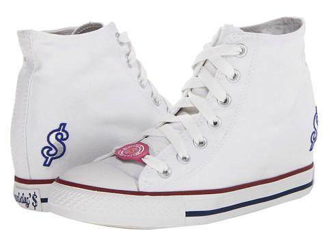 Adidasi SKECHERS - Gimme - Milk Money - White