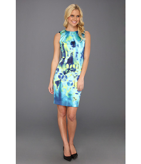 Rochii Elie Tahari - Emory Prominence Charmeuse Dress - Limonata