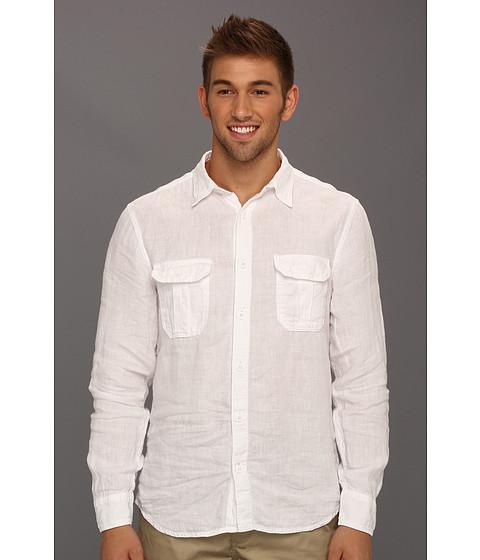 Bluze Lucky Brand - Ventura Linen Shirt - White
