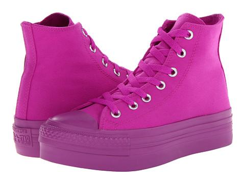 Adidasi Converse - Chuck Taylorî All Starî Platform Hi - Purple Cactus Flower Mono