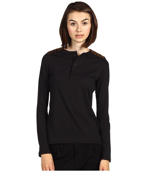 Bluze adidas - W SPlush Shoulder Top - Y-3 Black