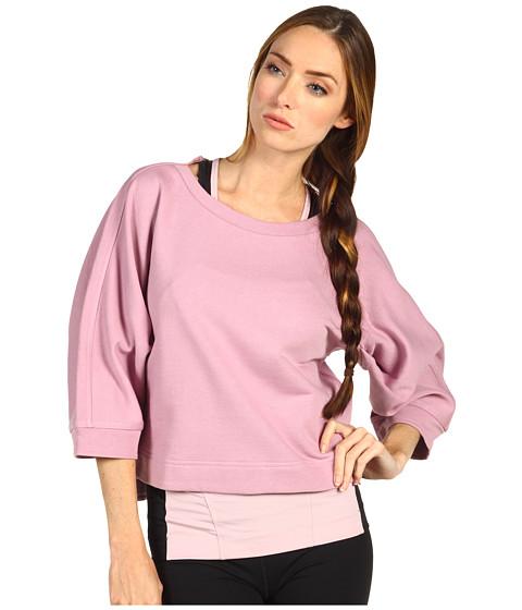Bluze adidas - Yoga Short Sleeve Sweatshirt X51284 - Shift Pink