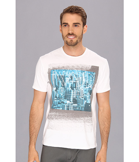Tricouri Calvin Klein - SS Invaded Future Tee - White