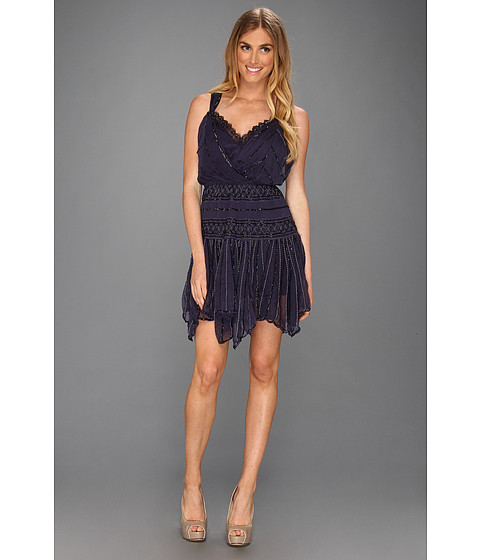 Rochii Free People - Shimmer Party Dress - Sapphire