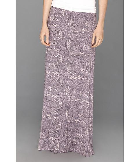 Fuste Free People - Print Sahaying Skirt - Dark Lilac Combo