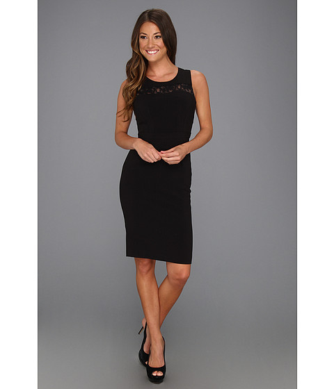 Rochii BCBGMAXAZRIA - Violette Woven Cocktail Dress - Black