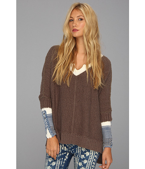 Bluze Free People - Cozy Cat Pullover - Soot