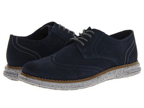 Pantofi Stacy Adams - Armstrong - Navy Suede