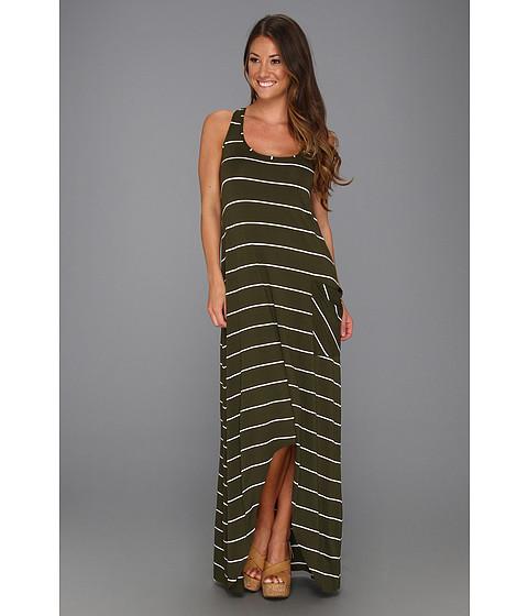 Rochii Michael Stars - Pippa Island Stripe Hi-Low Dress - Vintage
