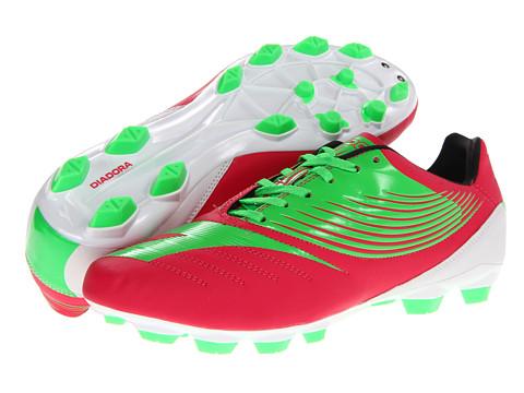 Adidasi Diadora Heritage - DD-NA R LPU - Fluo Green/Red Virtual Pink
