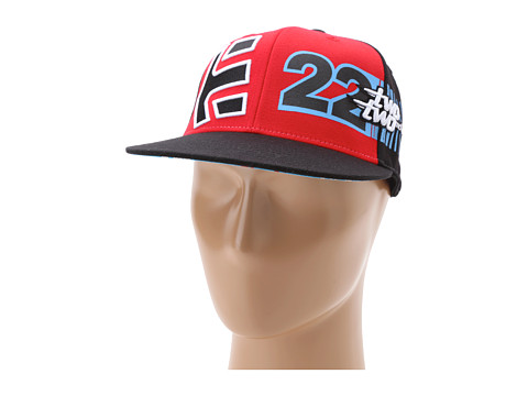 Sepci etnies - Chad Reed Table Top Hat - Black/Red