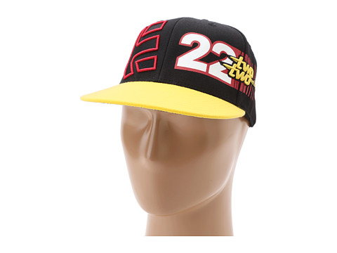 Sepci etnies - Chad Reed Table Top Hat - Black/Yellow