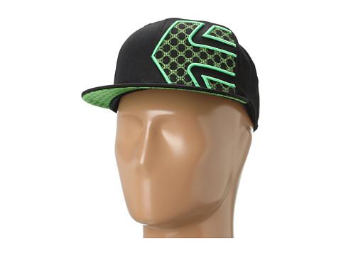 Sepci etnies - Chebby Hat - Black/Green