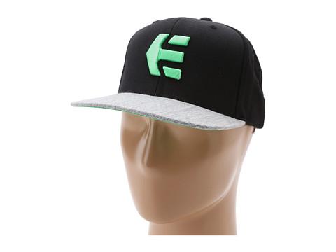 Sepci etnies - Icon 6 Hat - Black/Green/Black