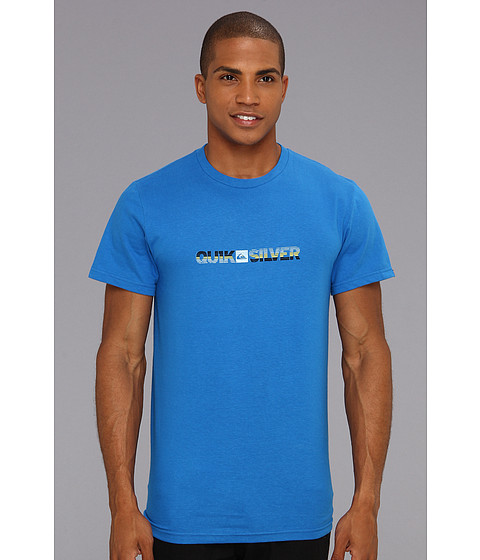 Tricouri Quiksilver - Torqued T-Shirt - Blue Velvet
