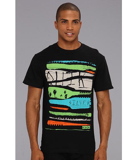 Tricouri Quiksilver - Destroy T-Shirt - Black
