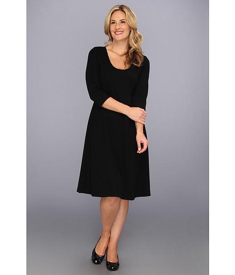 Rochii Karen Kane - Plus Size 3/4 Sleeve Flare Dress - Black 1
