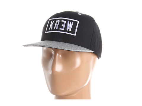 Sepci KR3W - Locker Patch Snap - Black/Silver