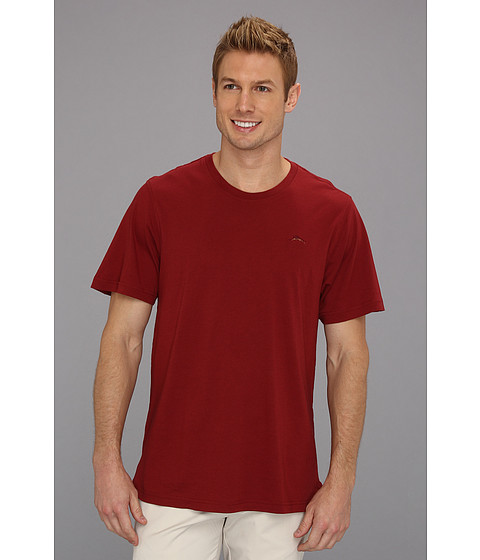 Tricouri Tommy Bahama - S/S Crew Neck Cotton Modal T-Shirt - Garnet