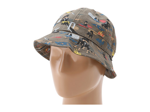 Sepci Obey - City Hunting Bucket Hat - Dark Olive