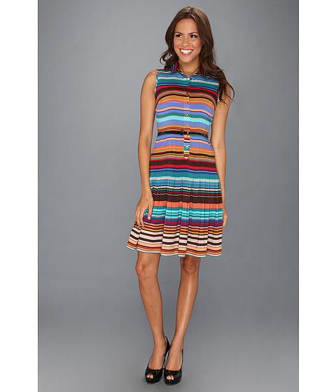 Rochii Calvin Klein - Striped A-line Dress - Multi