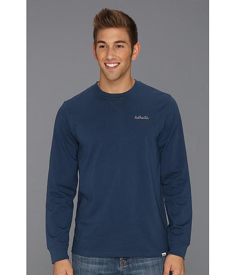 Bluze Vans - Hodgdon L/S Pullover - Ice Water