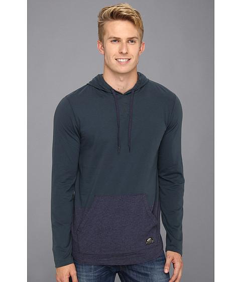 Bluze Vans - Milner Long Sleeve Pullover Hoodie - Midnight Navy/Navy Heather