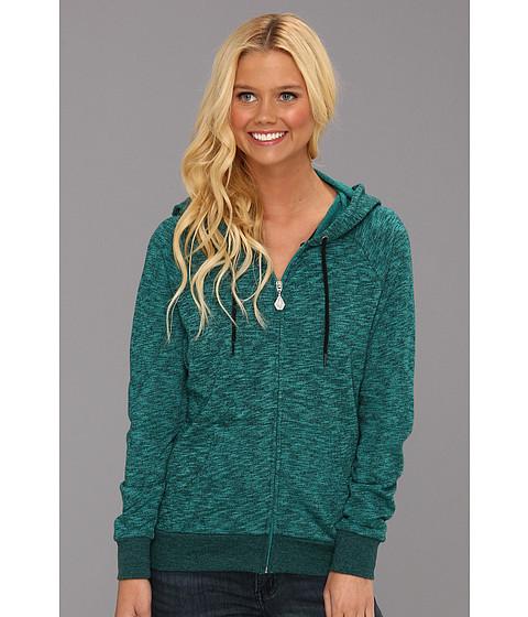 Bluze Volcom - Moclov Zip Sweatshirt - Emerald Green