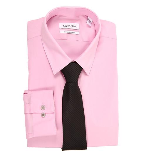 Tricouri Calvin Klein - Extreme Slim Fit Solid Dress Shirt - Pink Mist