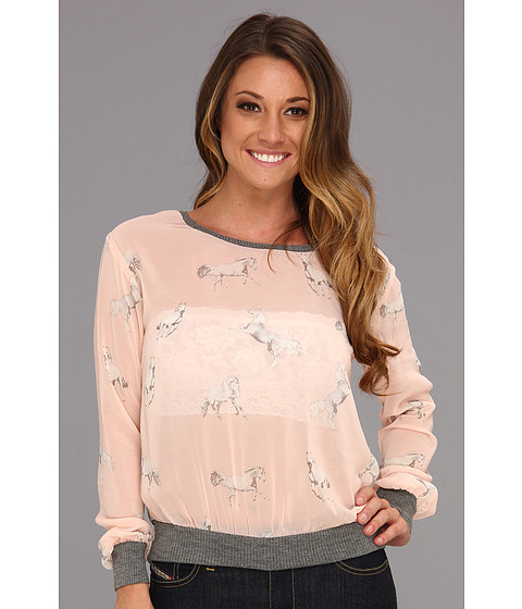 Bluze Gabriella Rocha - Maxine Top - Blush/Grey