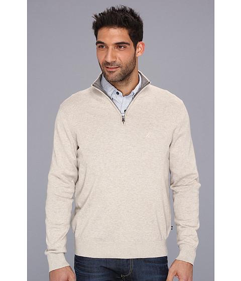 Bluze Nautica - 12-Gauge Cotton 1/4-Zip Sweater - Wood Drift Flux