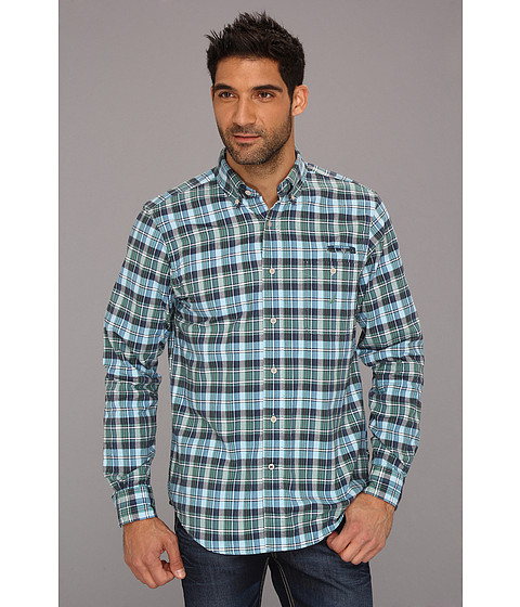 Bluze Nautica - Large Plaid Oxford L/S Shirt - Oasis Blue
