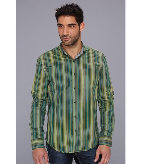 Tricouri Calvin Klein - Cryonic Stripe Body 3426A MP146 Shirt - Barberry Green