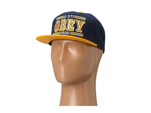 Sepci Obey - 89ers Snapback - Blue/Gold