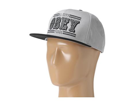 Sepci Obey - 89ers Snapback - Grey/Black